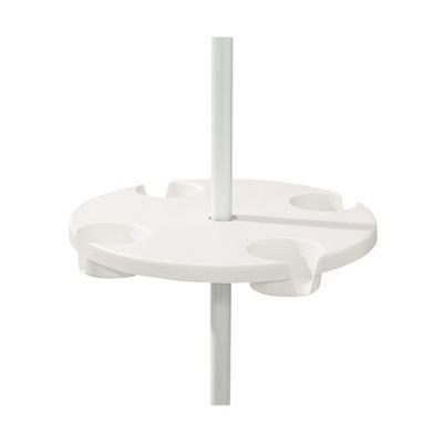 Amazon.com : The Beach   Patio Table, 18 Inch Diameter, White : Camping  Tables : Sports U0026 Outdoors