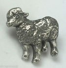 Sheep Lamb Ewe - Badge Hand Made From Solid Pewter In The UK by Emblems-Gifts