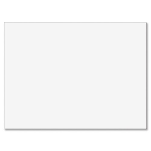 Tru-Ray Sulphite Construction Paper - 24'' x 18'' - White