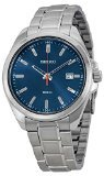 Seiko Three-Hand Silver-Tone Stainless Steel Men's watch #SUR059