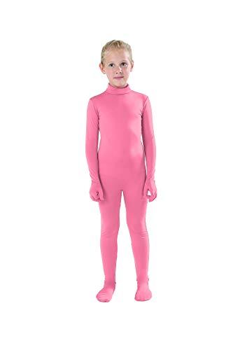 Full Bodysuit Kids Dancewear Solid Color Lycra
