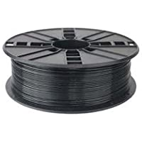 1KG Spool of Technologyoutlet Black 1.75mm PLA Filament Premium Quality for 3D Printers