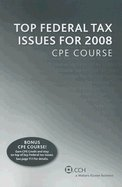 Read Online Top Federal Tax Issues for 2008 Cpe Course (08) by Editors, CCH Tax Law [Perfect Paperback (2007)] pdf epub