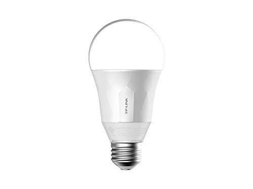 TP-Link Smart LED Light Bulb LB100, Wi-Fi, Dimmable White, No Hub Required, 50W Equivalent (Works with Amazon Alexa and Google Assistant)