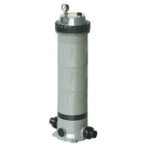 Dayton 4VMN6 Pool/Spa Filter, Cartridge, 31 11/16 Hi