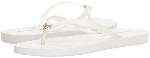 Blanc Flat Solid Bahamawhykiki Femme Whykiki Plat Uni Tommy HwPq8