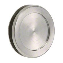 CRL Brushed Stainless Steel UV Pull for Sliding Glass Doors 1810BS by CR Laurence
