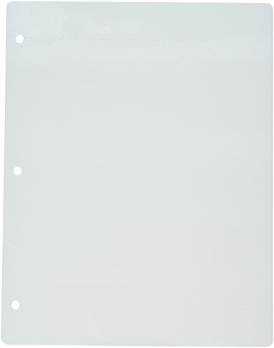 Crafter's Companion EZMount Lightweight Stamp Storage Panels White 5/Pkg-8.5