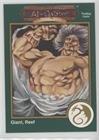 Al-Qadim - Giant, Reef (Trading Card) 1993 TSR Advanced Dungeons & Dragons - [Base] - Gold #279