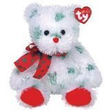 TY Punkies - SANTA CLAWS the Bear (Large - 12 inch)