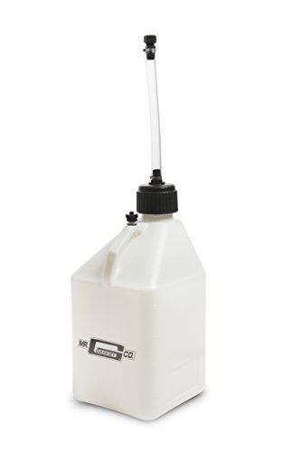 (Mr. Gasket 36953G Utility JUG 5 GAL White W/Hose)