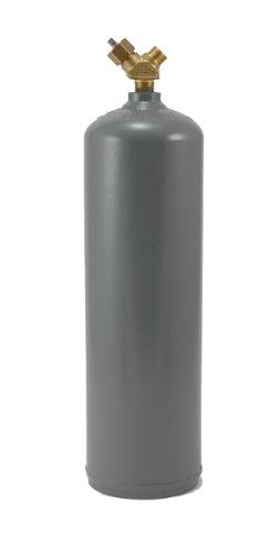 Empty Tank (Hot Max 24012 10 Cubic Foot (MC Size) Acetylene Cylinder Tank,)