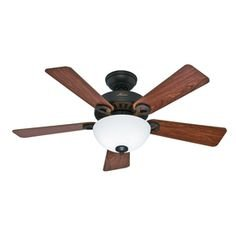Bayou Creek 56-in Oil Rubbed Bronze Downrod or Close Mount Indoor Residential Ceiling Fan with Light Kit and Remote