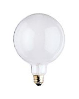150 watt g40 globe decorative light bulb 5 diameter incandescent white - Decorative Light Bulbs