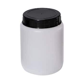Cole-Parmer Cylindrical Jar, HDPE; 500 mL; 10/pk by Cole-Parmer