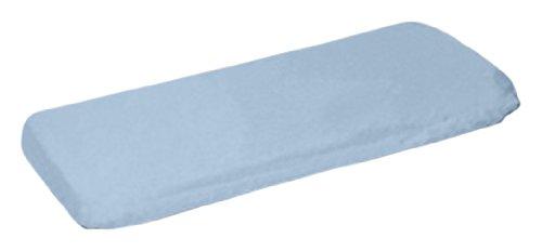 Baby Doll Bedding Modern Hotel Style Crib Sheet, Blue