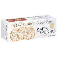Wellington Cracker Water Cracked Pepper, 4.40 oz