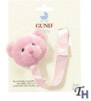 Teddy Bear Pacifier Clips by Gund ()