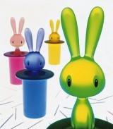 Alessi Magic Bunny Toothpick Holder Blue ()