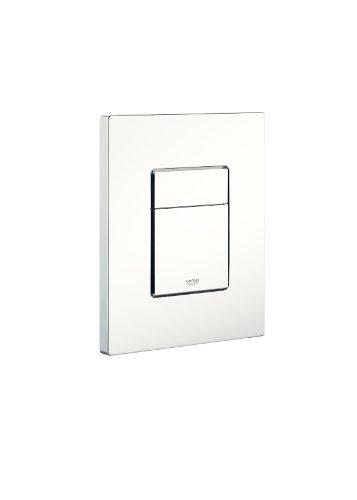 GROHE 38966SH0 | Skate WC Flush Plate | Alpine White