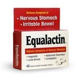 Equalactin Citrus Flavored Tablets for Irritable Bowels 48 ea(Pack of 6)