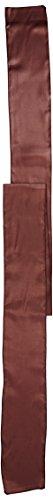 LinenTablecloth Satin Sash (10-Piece) Chocolate