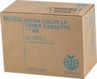 - Ricoh Aficio CL7000 Cyan Toner 10000 Yield Type 105 - Genuine Orginal OEM toner