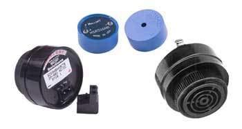 Audio 6VDC 28VDC 28mA 50dBA//62dBA 1600Hz to 2200Hz Screw Panel Mount SC628EJR