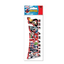 Jolees Marvel 3-D Title Stickers-Spiderman