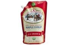 Grade B Maple Syrup (6-16.9 oz bags) Grade B Maple Syrup