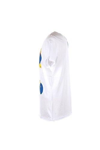 T-shirt Uomo Daniele Alessandrini S Bianco M90453800 Primavera Estate 2018