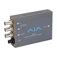 - AJA ADA4 4-Channel Bi-Directional Audio A/D & D/A Converter