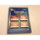 Maxell Digital Video Cassette - 4 Pack - 60 min.