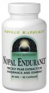 Source Naturals Nopal Endurance 40mg, 60 capsules