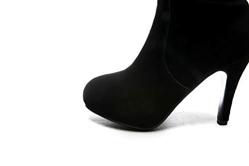 Mujer Con Cuña Sandalias 1to9 Mns03350 Negro REqIxntZwv