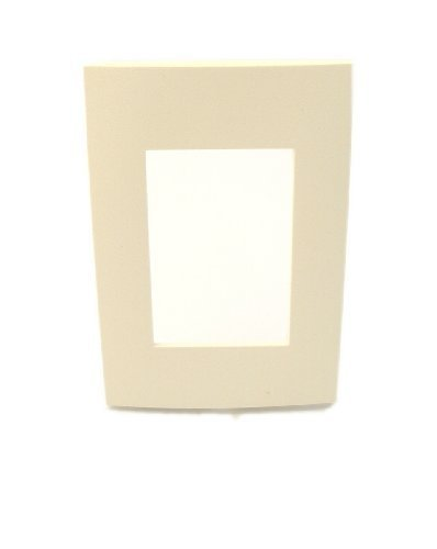 Leviton ACWP1-A 1-Gang Device, Acenti Wallplate, Screwless Snap-On Mount, ()