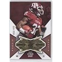 Cyrus Gray #456/499 (Football Card) 2012 SPx - Finite Rookies #F-CG