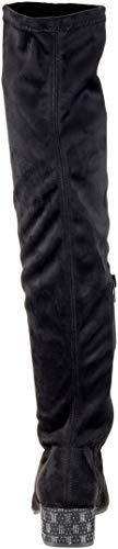 Donna Donna 21 Nero Black Black Black sopra Ginocchio 25528 Il 98 Comb Stivali Tamaris 7xqHwYY