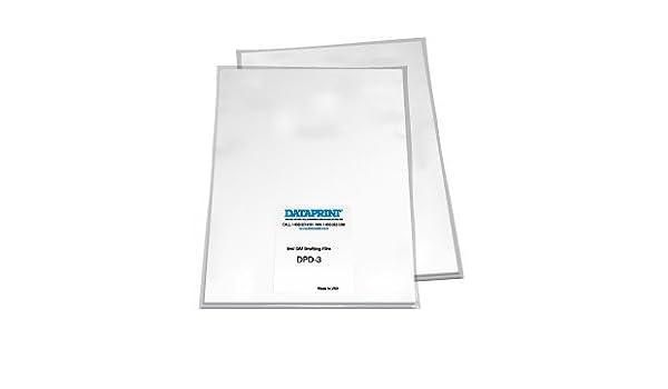 Amazon com : Dataprint 3mil Double Matte Drafting Film 11