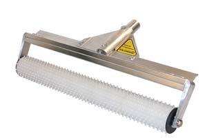Seymour 59774 24'' Stub Roller on Aluminum Frame, Threaded Handle