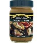 Walden Farms Garlic & Herb Pasta Sauce, 12 oz Bottle (Pack of 6)