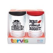 Tervis 16 Oz. Mr. Right And Mrs. Always Right Travel Mugs - Mr Right Mrs Always Right Tumbler