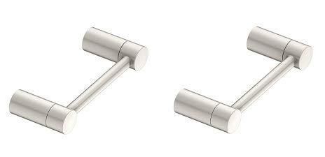 Moen YB0408BN Align Pivoting Toilet Paper Holder, Brushed Nickel (2-(Pack)) by Moen (Image #1)