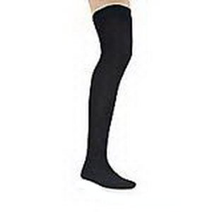 Men's 30-40 mmHg Closed Toe Thigh High Support Sock - Size: