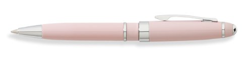 Petit Point Purse - Franklin Covey, Bristol Mini Journal Ballpoint Pen, Pink Lacquer with Chrome, by Cross (FC0052IM-3)