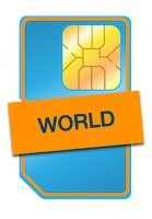 Telestial Pure World SIM Card works in 200+ Countries and includes $5 Credit on the SIM. Offers low cost data, texts and calls worldwide . US Phone Number. No Balance Expiration. No Contract Required by Telestial Pure World SIM Card