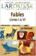 Read Online Fables choisies, livres I à VI, texte intégral pdf