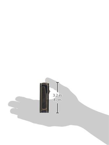 Scorch Torch Skyline Triple Jet Flame Butane Torch Cigar Lighter w/Punch Cutter Tool and Butane Window (Gunmetal)