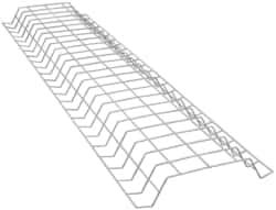 Steel Light Fixture Wire Guard for Use with Heavy Duty Channel Fluorescent Strip Fixtures Cooper Lighting 3 Pack