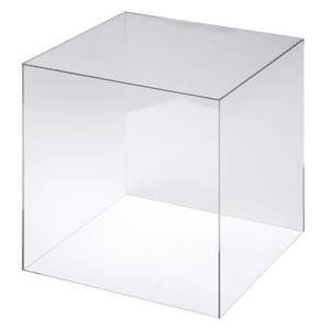 Clear Display Cube and Riser, 18'' Square Acrylic